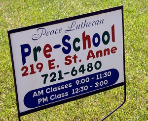 Pre-School at Peace lutheran